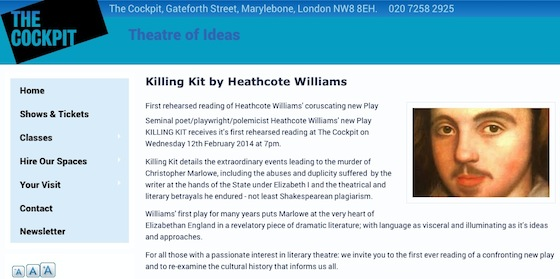 KILLING-KIT-reading at THE COCKPIT