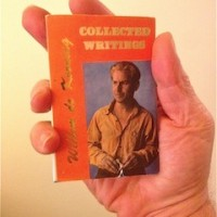 Willem de Kooning's Collected Writings [Hanuman Books, 1988]. This is a 1990 second printing.