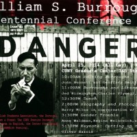 William S. Burroughs Centennial Conference hosted by The Center for Humanities, at the CUNY Graduate Center.