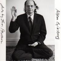 Allen Ginsberg in Boulder, Colorado [Photo by Jan Herman, 1980].