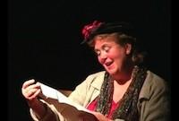 Abbie Conant as the Mad Soprano
