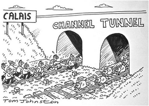 Cartoon [Tom Johnston]