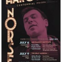 Three Centennial Parties for Harold Norse