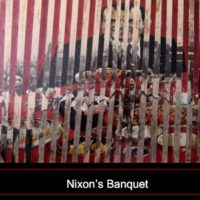 Collage by JH[1972], using Nick Ut's photo and an Esquire image of Nixon about his 'opening to China.'