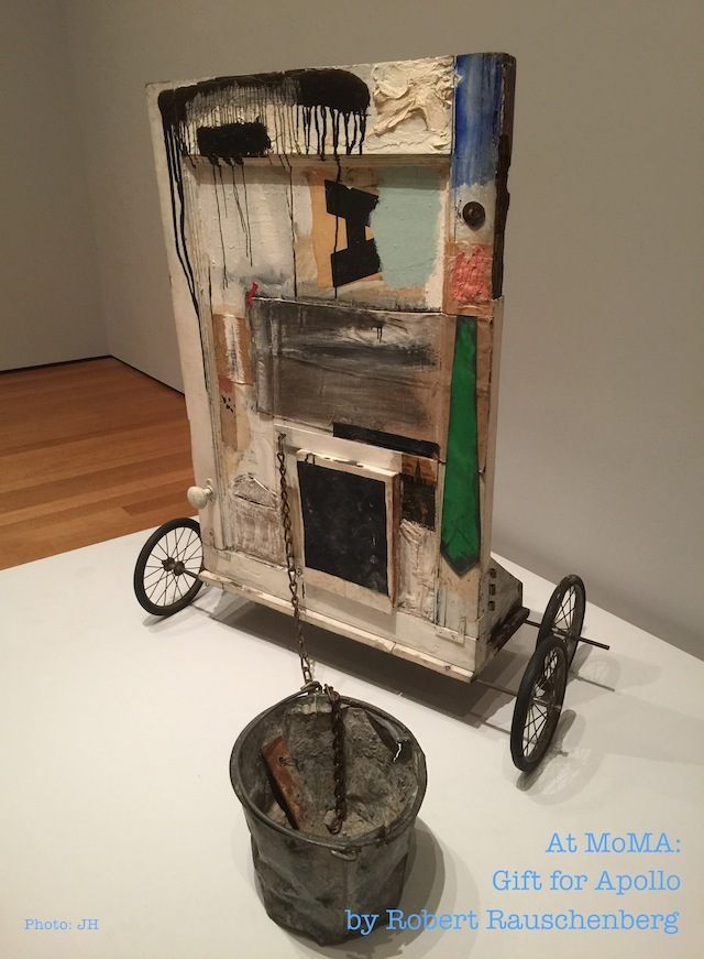 'Gift for Apollo' by Robert Rauschenberg [Photo: JH]