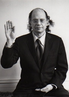Allen Ginsberg [Photo © 1980 by Jan Herman]