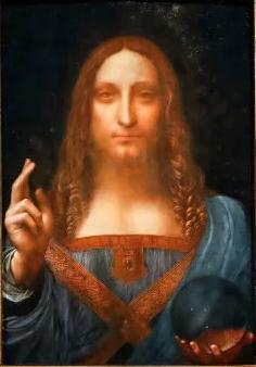 Salvator Mundi [ca. 1505 by Leonardo Da Vinci, maybe]