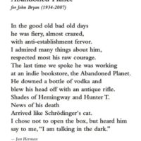 Tribute to John Bryan from Cold Turkey Press