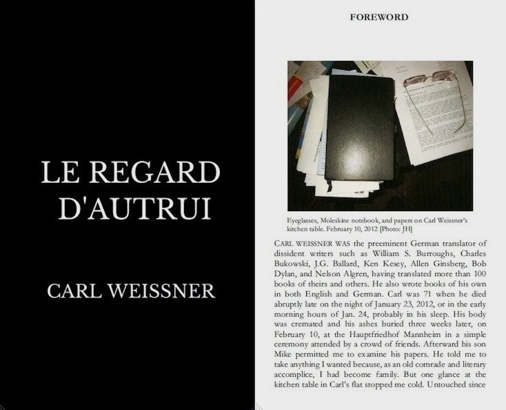 Foreword JH for LE REGARD D'AUTRUI