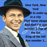 The Sinatra Imperative