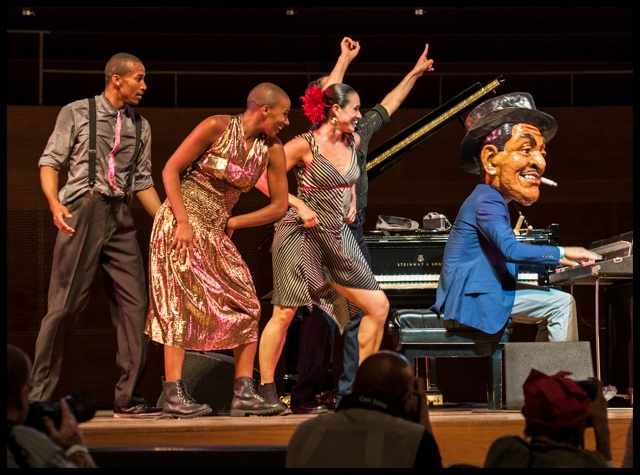 Jason Moran fats waller head dancers Chicago jazz fest 13