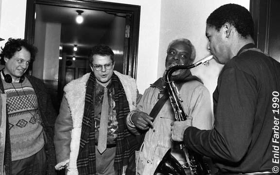 Dewey Redman. Charlie Haden and Branford Marsali