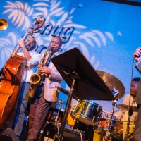 Branford Marsalis and Kurt Elling in New Orleans, ready for recording