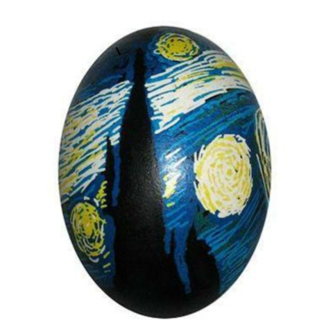 starry night egg