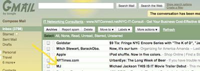 Strange Piece of Mail MichaelJacksonEmail