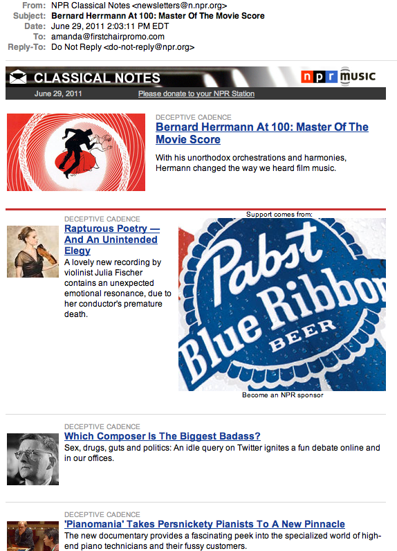 Pabst Blue Ribbon | Life's A Pitch