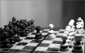 Conflict (Chess II) by Cristian V. from Flickr. Used under Creative Commons license.