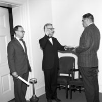 Swearing-in Ceremony for August Heckscher, Special Consultant on the Arts