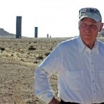 Richard Serra's In A Desert (And Doing His Best Work Ever, He Says)
