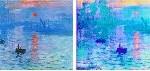 Scientists Print A Monet With A Nanoprinter