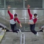 Watch Justin Peck And Robbie Fairchild Dance Through A Subway Station
