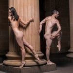 'By All Accounts A World First: Nude Dancers In Front Of Nude Paintings Before A Nude Audience'