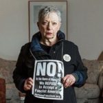 Lincoln Center Denies Seat To Woman Wearing Anti-Trump Sign