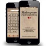 Shakespeare Audio Pronunciation App
