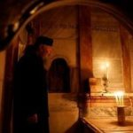 Shrine At Site Of Jesus's Tomb Reopens After Nine-Month Restoration