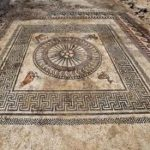 Roman Mosaic Discovered And Taken Away To Lab For Conservation – As Townspeople Flip Out