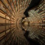 Add This Mirrored Tunnel Of Books To Your Bookstore Bucket List