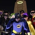 Los Angeles Lights Up City Hall With The Bat Signal In Honor Of Adam West