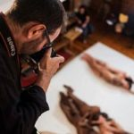 Watching A Photo Artist Collect His Raw Materials: Heaps Of Naked Bodies (And No, This Isn't Spencer Tunick)