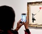 "So Banksy's Balloon Girl Was Voted ""Best-Loved"" Art Work In Britain? OMG"
