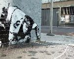 A Long-Lost Banksy Is Rediscovered After Being Vandalized And Boarded Up