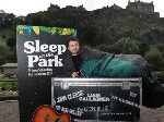 Art In Support Of Homeless: 9000 to Sleep In A Park In Edinburgh