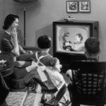 The End Of Families Gathering Round The TV