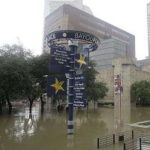 Houston's Theatre District Swamped By Harvey's Floodwaters