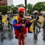 A Violinist Has Become The Face Of Resistance In Venezuela. But He's Gone Silent