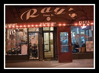 Ray's Pizza, 27 Prince Street, New York -- but not for long