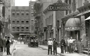Mon Lay Won, the Chinese Delmonico, 24 Pell St., New York (1910)