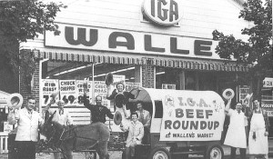 "A Wallen Market (which everyone calls Wallen's) beef promotion, c.1960. ""Bellport Village and Brookhaven Hamlet"" by Victor Principe, photo courtesy Robert Wallen"