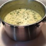 Pasta vazool, almost ready