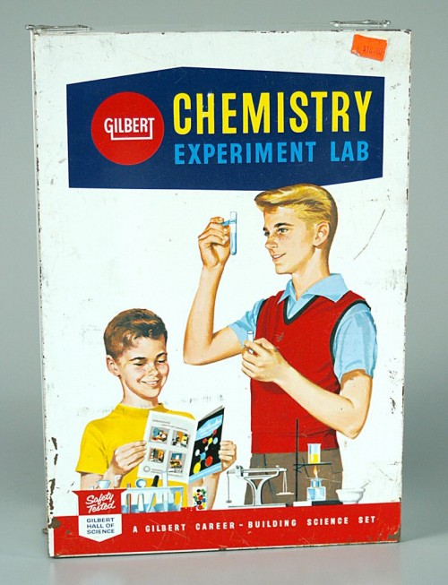 Gilbert chemistry set