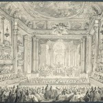 Opera House of Gabriel-opening night, 1770