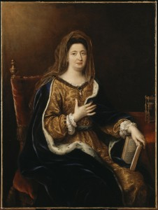 Prude patroness of Clérambault and host of private concerts where Francois Couperin performed his royal concerts.
