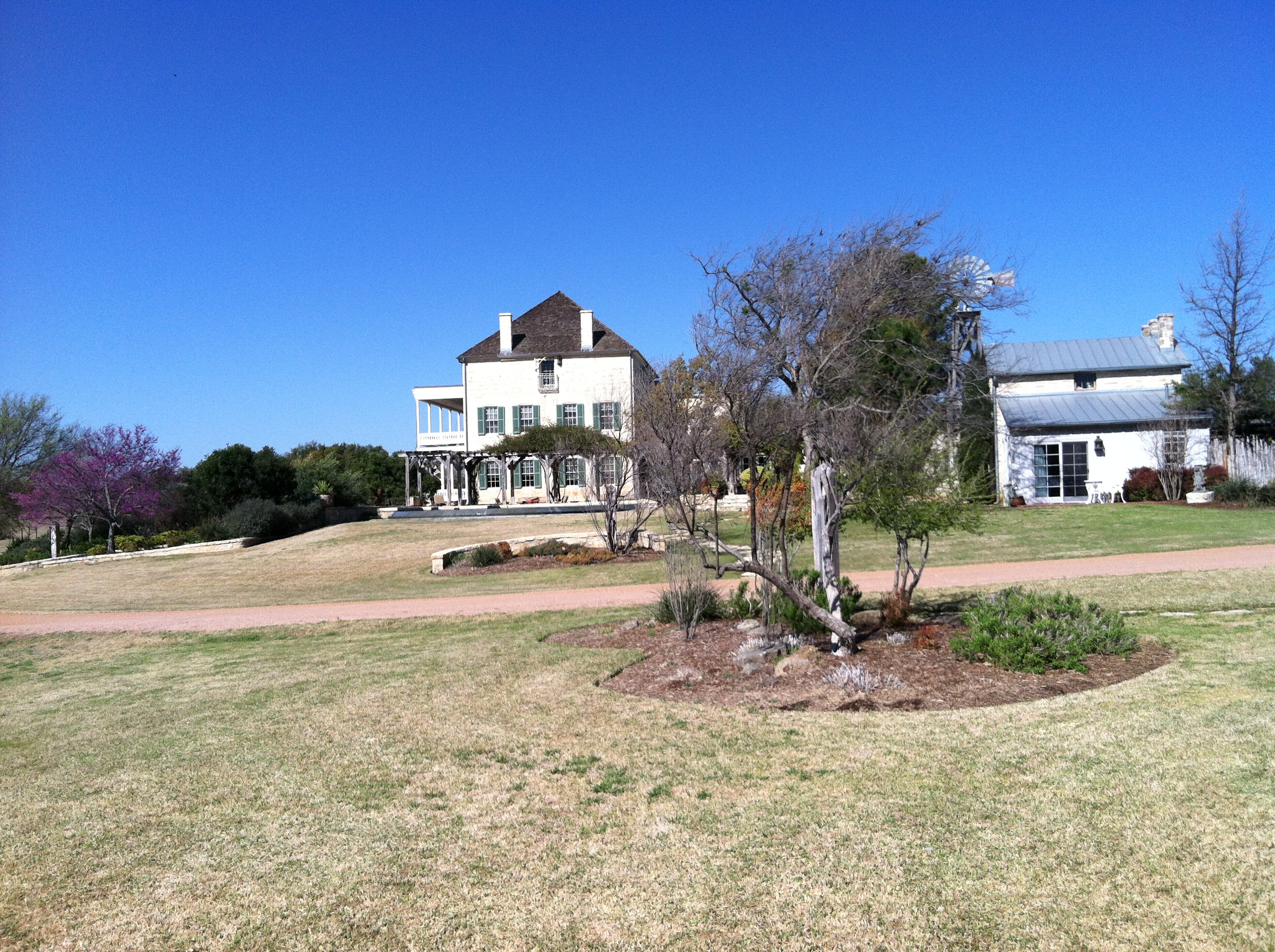The manor house on the Ranch