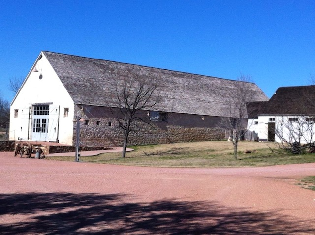 The Sheep Barn, beautiful acoustic serving as our concert hall.