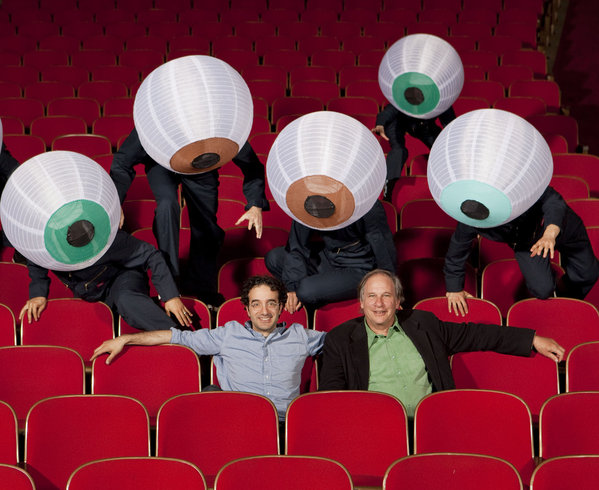 Radiolab hosts Jad Abumrad & Robert Krulwich