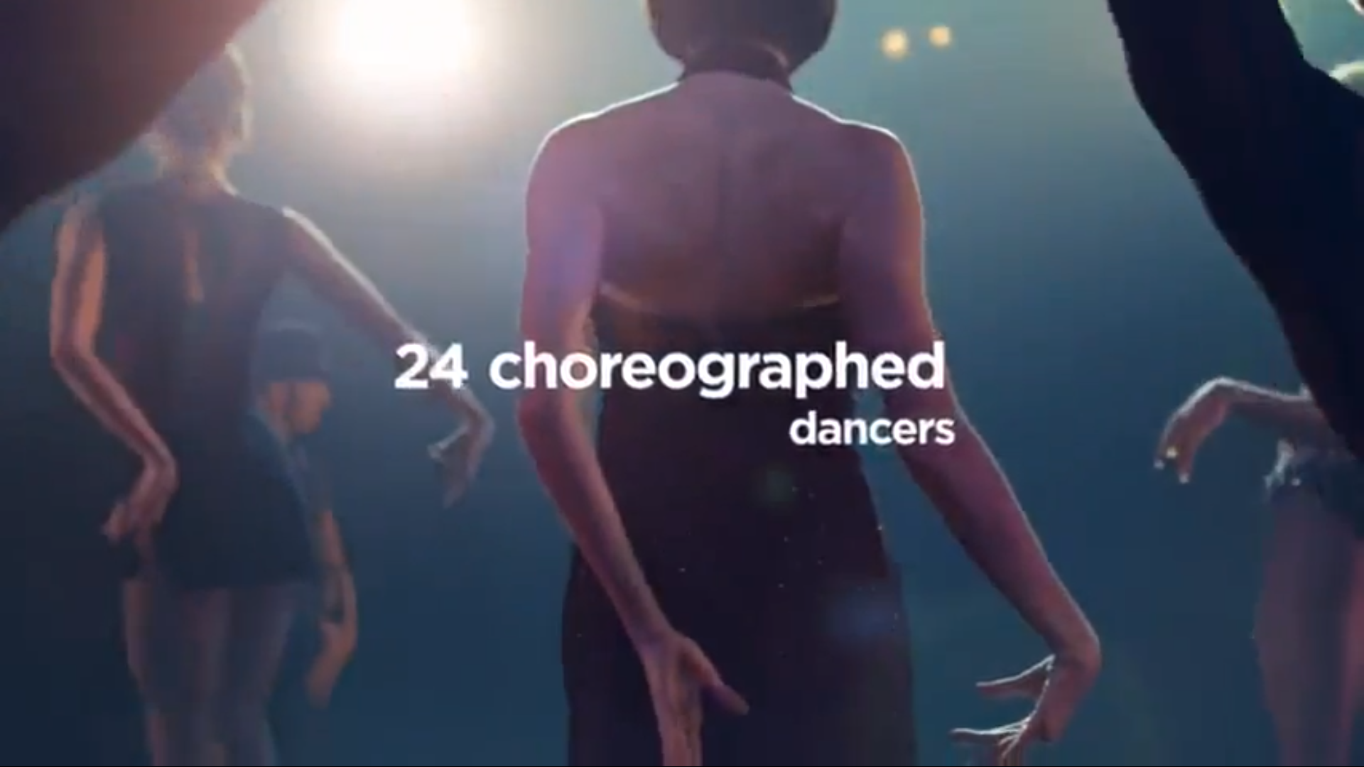 24 'Choreographed' Dancers?